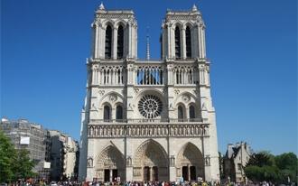 קתדרלת נוטרדאם פריז - Cathédrale Notre-Dame de Paris