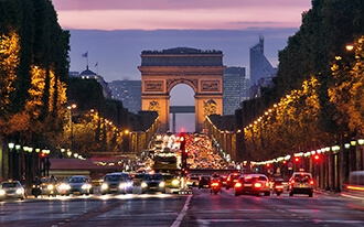 שער הניצחון בפריז - Arc de Triomphe